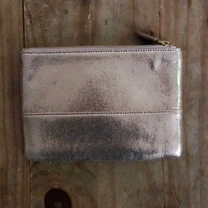 JCrew Metallic Clutch- barely used!